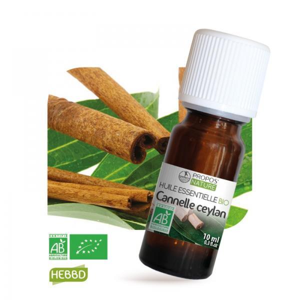 Huile essentielle de Cannelle Bio 100% pure et naturelle-Propos'Nature