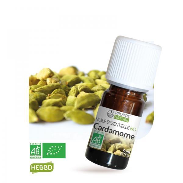 Huile essentielle de Cardamome Bio 100% pure et naturelle-Propos'Nature
