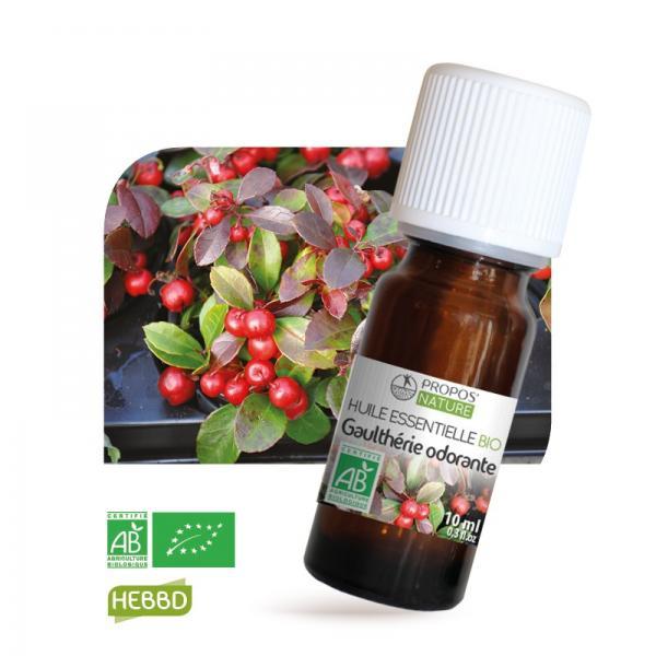Huile essentielle de Gaulthérie Odorante Bio 100% pure & naturelle-Propos'Nature