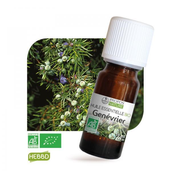 Huile essentielle de Genévrier Bio 100% pure et naturelle-Propos'Nature