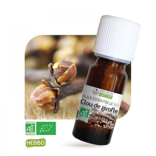 Huile essentielle de Girofle (clou) Bio 100% pure et naturelle-Propos'Nature