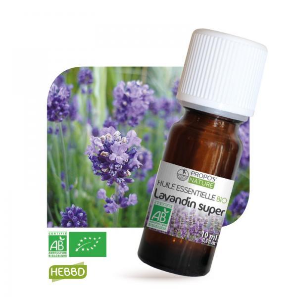 Huile essentielle de Lavandin super Bio 100% pure et naturelle-Propos'Nature