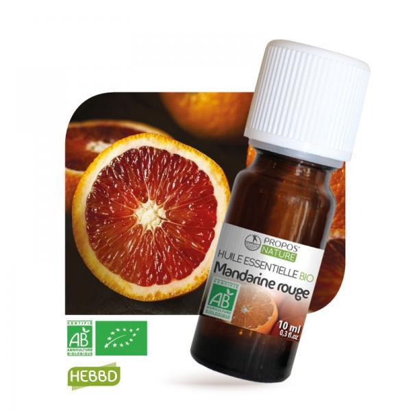 Huile essentielle de Mandarine rouge Bio 100% pure et naturelle-Propos'Nature