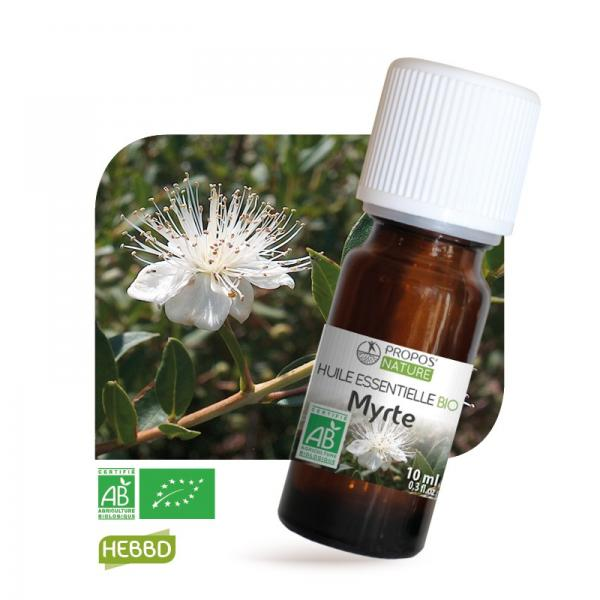 Huile essentielle de Myrte Bio 100% pure et naturelle-Propos'Nature