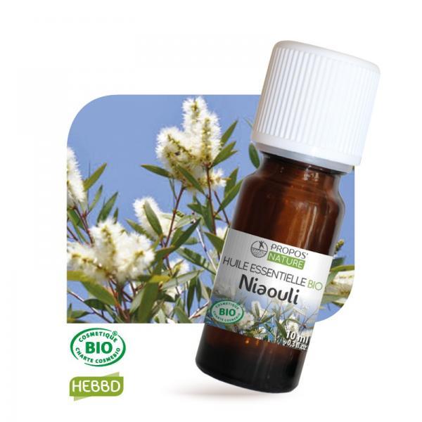 Huile essentielle de Niaouli Bio 100% pure et naturelle-Propos'Nature