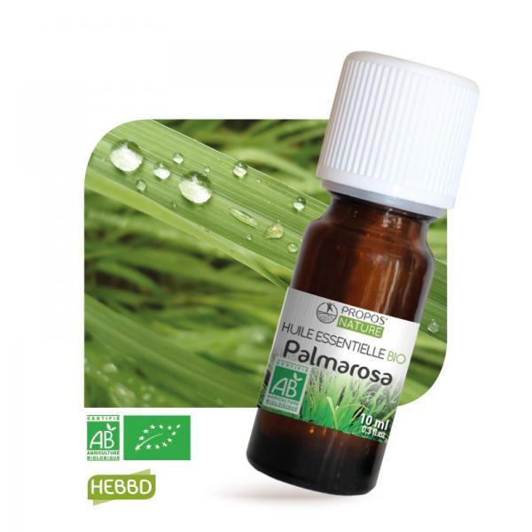 Huile essentielle de Palmarosa Bio 100% pure et naturelle-Propos'Nature