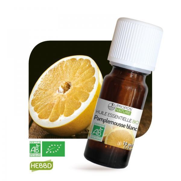 Huile essentielle de Pamplemousse blanc Bio 100% pure et naturelle-Propos'Nature
