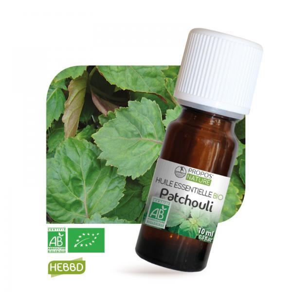 Huile essentielle de Patchouli Bio 100% pure et naturelle-Propos'Nature