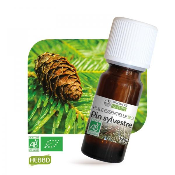 Huile essentielle de Pin Sylvestre Bio 100% pure et naturelle-Propos'Nature