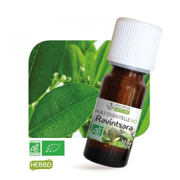 Huile essentielle de Ravintsara Bio 100% pure et naturelle-Propos'Nature