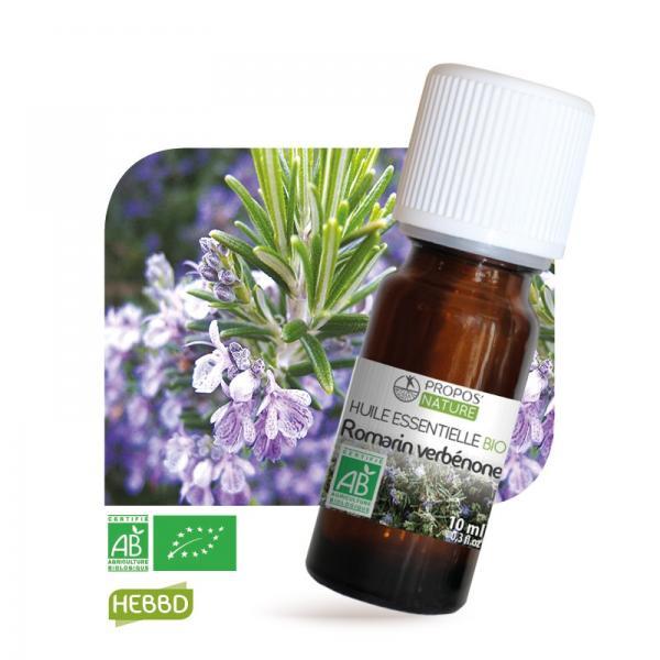 Huile essentielle de Romarin verbénone Bio 100% pure et naturelle-Propos'Nature