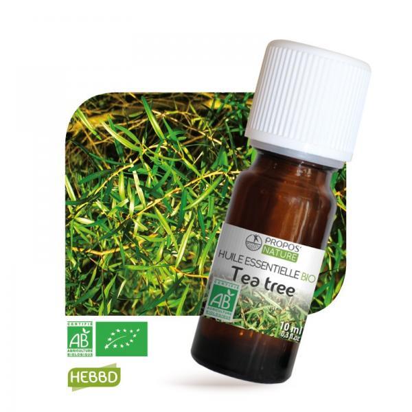 Huile essentielle de Tea Tree Bio 100% pure et naturelle-Propos'Nature