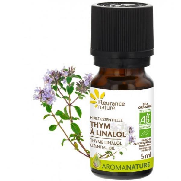 Huile essentielle de Thym à linalol Bio - Fleurance Nature