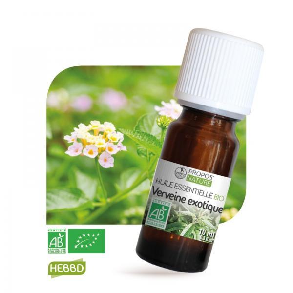 Huile essentielle de Verveine Exotique Bio 100% pure et naturelle-Propos'Nature
