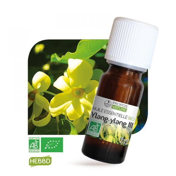 Huile essentielle de Ylang ylang Bio 100% pure et naturelle-Propos'Nature