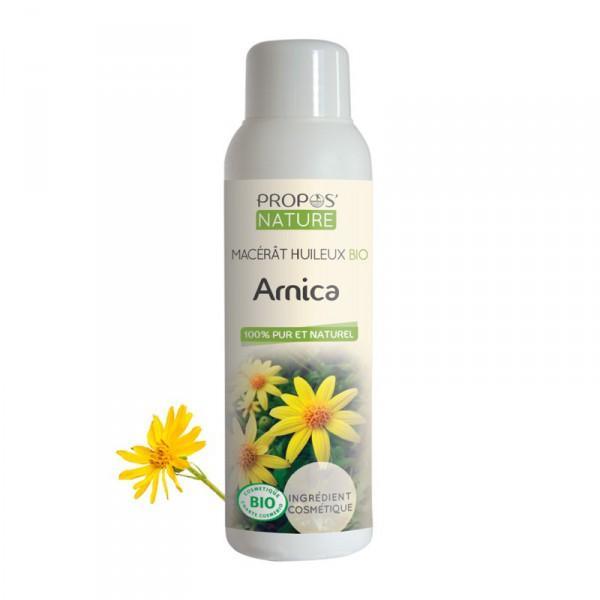 Huile Végétale Arnica Bio (macérat huileux 100% pur et naturel) -Propos'Nature