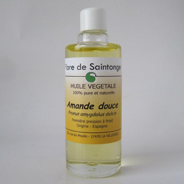 Huile Végétale d'Amande Douce-Flore de Saintonge