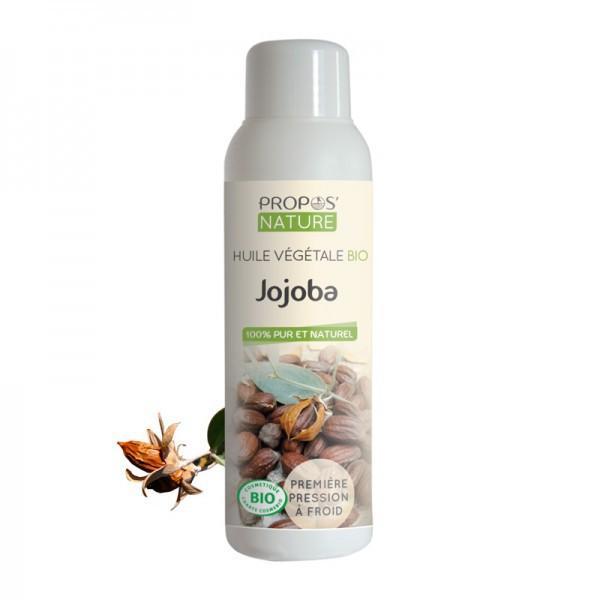 Huile Végétale de Jojoba Bio 100% pure et naturelle-Propos'Nature