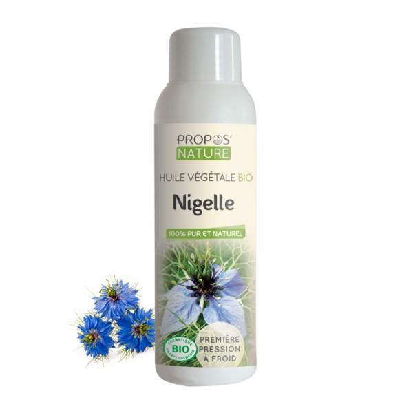 Huile Végétale de Nigelle Bio 100% pure et naturelle-Propos'Nature