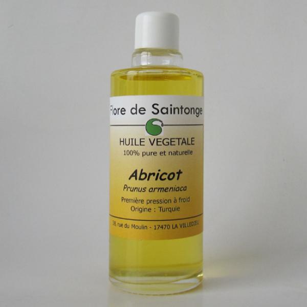 Huile Végétale de Noyau d'Abricot-Flore de Saintonge