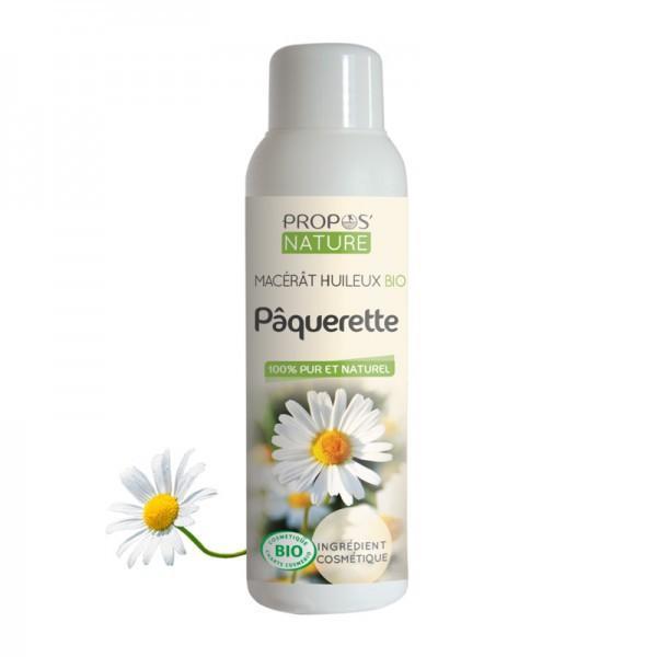 Huile Végétale de Paqurette Macérât Bio 100% pure et naturelle-Propos'Nature