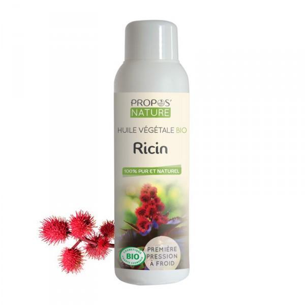 Huile Végétale de Ricin Bio 100% pure et naturelle-Propos'Nature 100ml