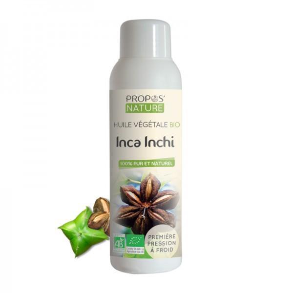 Huile Végétale Inca Inchi Bio 100% pure et naturelle-Propos'Nature
