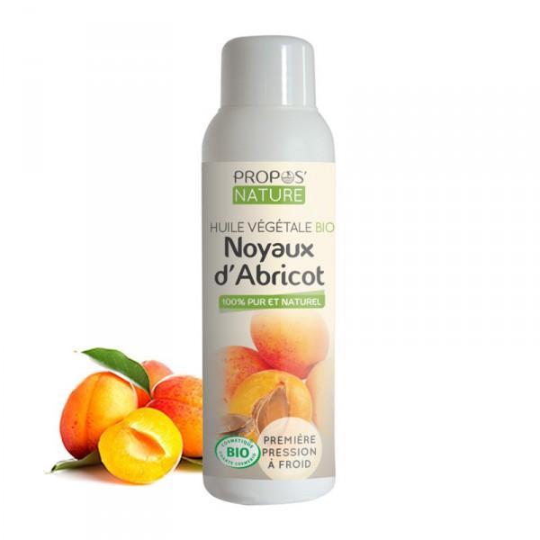 Huile Végétale noyaux d'Abricot Bio 100% pure et naturelle-Propos'Nature