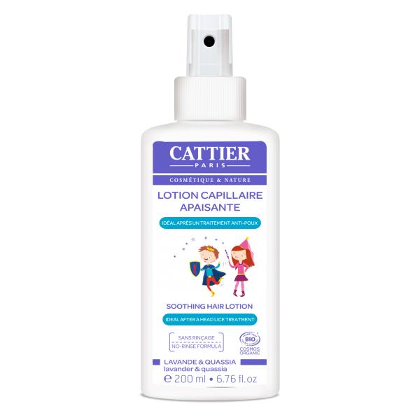 Lotion capillaire apaisante prévention poux - Cattier