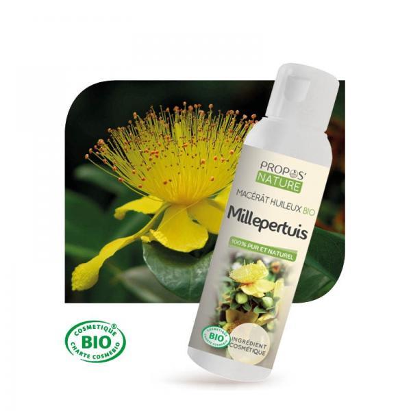 Macérât huileux de Millepertuis Bio 100% pur et naturel-Propos Nature