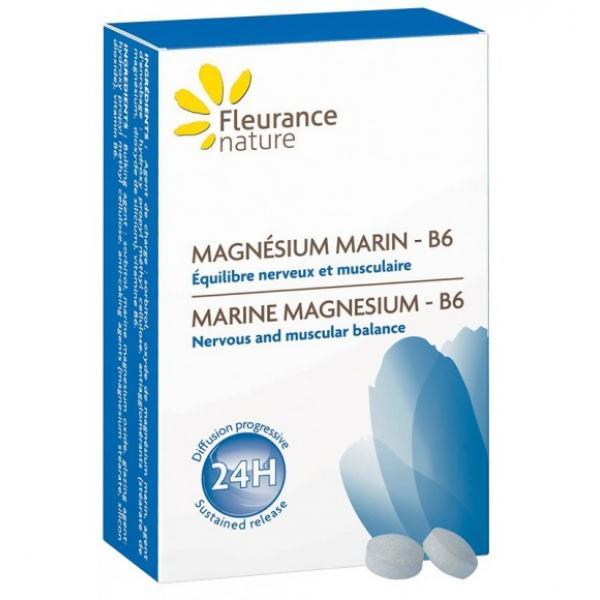 Magnésium marin - B6 - Fleurance Nature