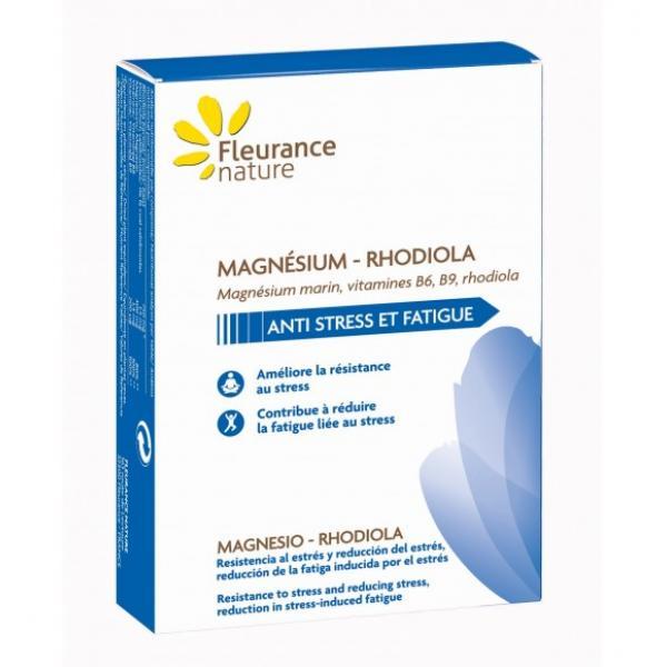 Magnésium - Rhodiola - Fleurance Nature