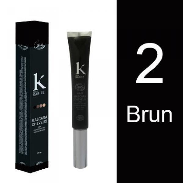 Mascara pour Cheveux n°2 Brun-K pour Karité
