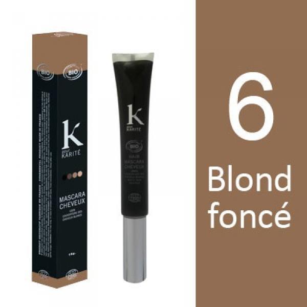 Mascara pour Cheveux n°6 Blond Foncé-K pour Karité