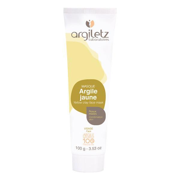 Masque Argile Jaune-Argiletz