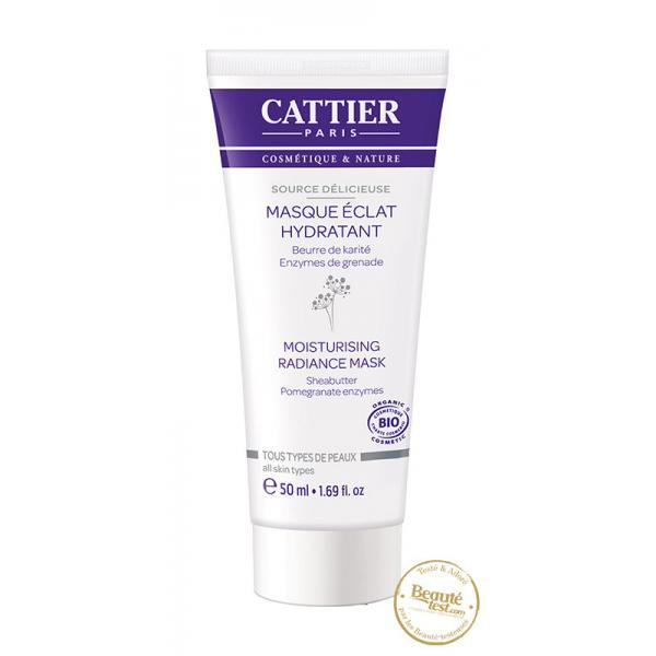 Masque éclat hydratant - Cattier