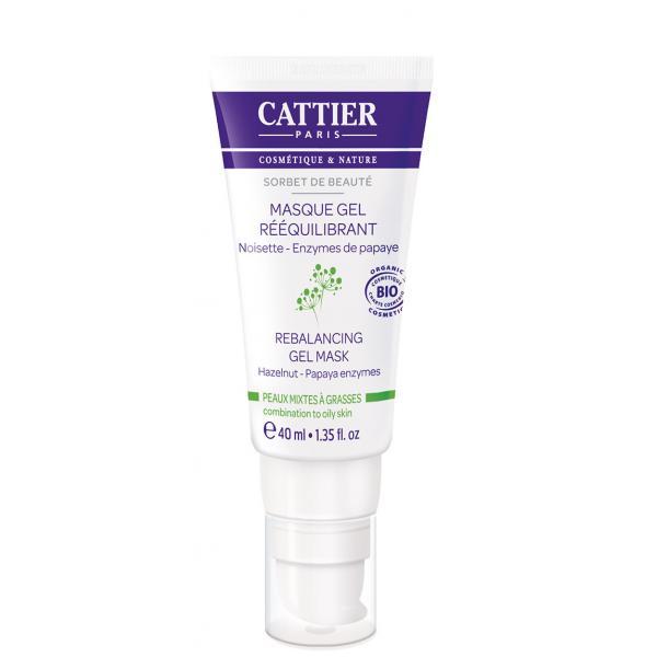 Masque gel rééquilibrant - Cattier
