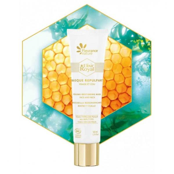 Masque repulpant anti-rides Elixir Royal - Fleurance Nature