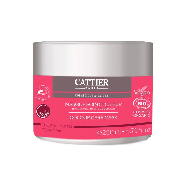 Masque soin couleur pour cheveux colorés - Cattier