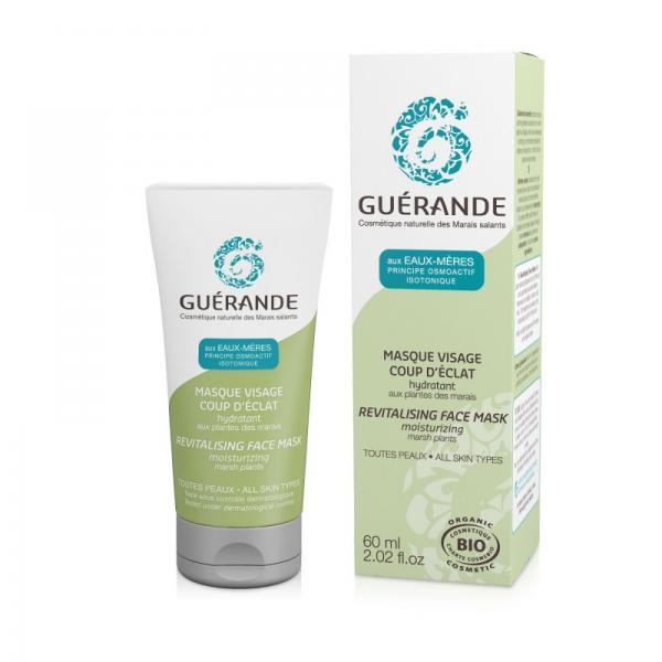 Masque Visage Coup d'Eclat Hydratant - Guérande