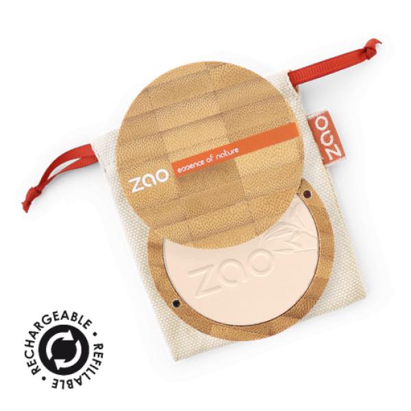 Poudre compacte et sa recharge - ZAO Make-Up