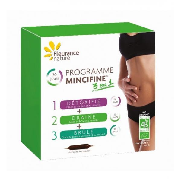 Programme Mincifine® 3 en 1 Bio - Fleurance Nature