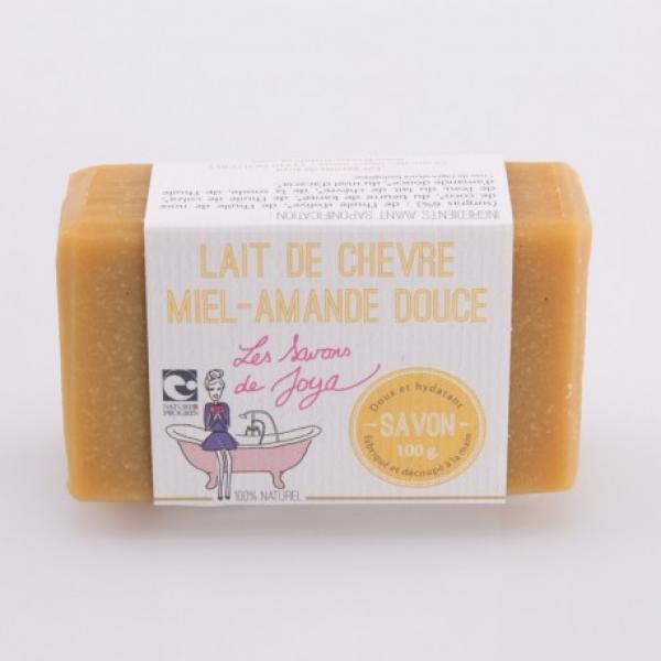 Savon au lait de chèvre, miel et amande douce - Les Savons de Joya