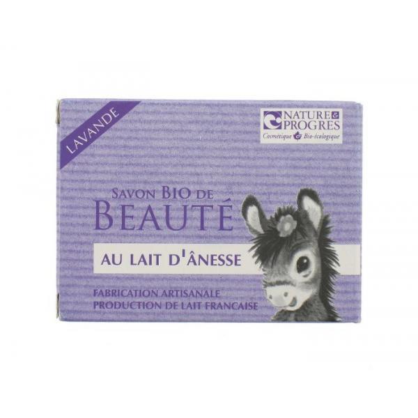 Savon Bio de Beauté Lait d'Anesse-Lavande Fabrication artisanale-Cosmo Naturel