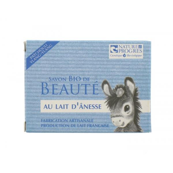 Savon Bio de Beauté Lait d'Anesse-Patchouli Fabrication artisanale-Cosmo Naturel