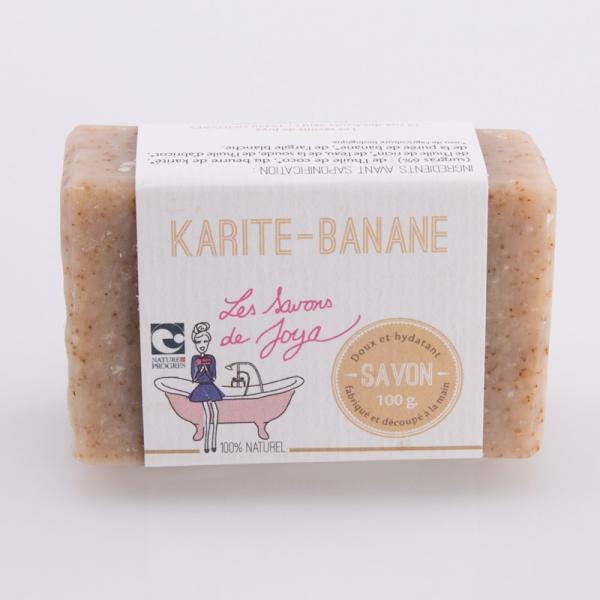 Savon bio Karité et Banane sans huile essentielle-Les savons de Joya