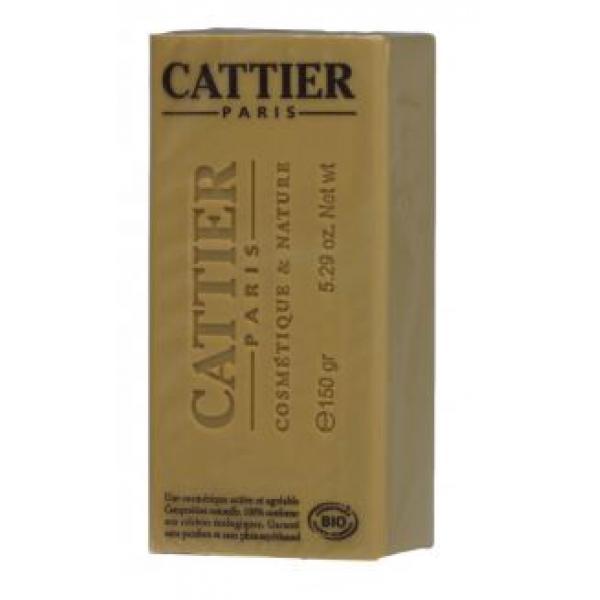 Savon doux végétal argile blanche, jaune et miel (peaux mixtes) - Cattier