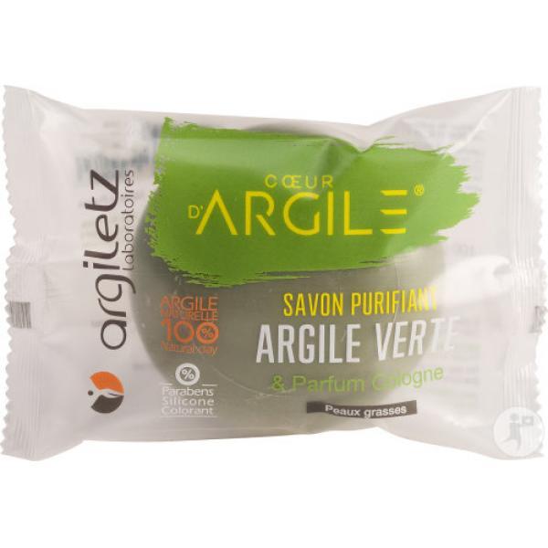 Savon Purifiant Argile Verte 100g