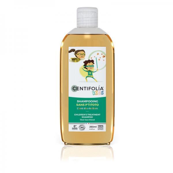 Shampoing enfant bio sans p'titoto contre les indésirables - Centifolia
