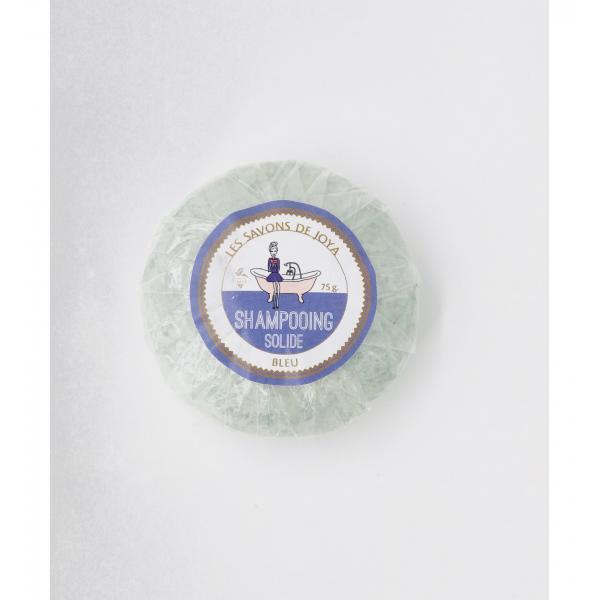 Shampoing solide bleu pour cheveux blancs et blonds - Les Savons de Joya